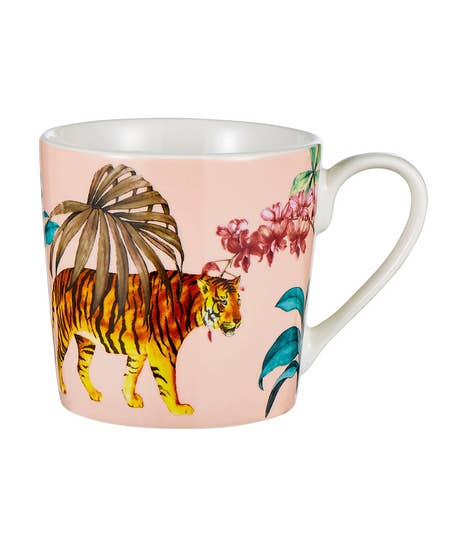 Truly Tropical Set Of 4 Mugs