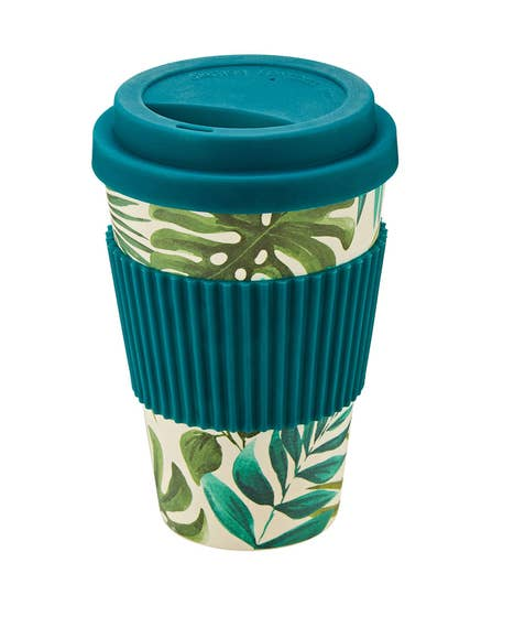 Truly Tropical Bamboo Travel Mug