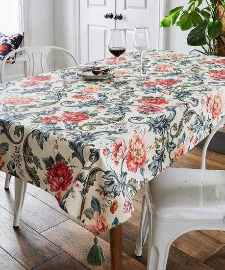 Fabulously Floral Tablecoth