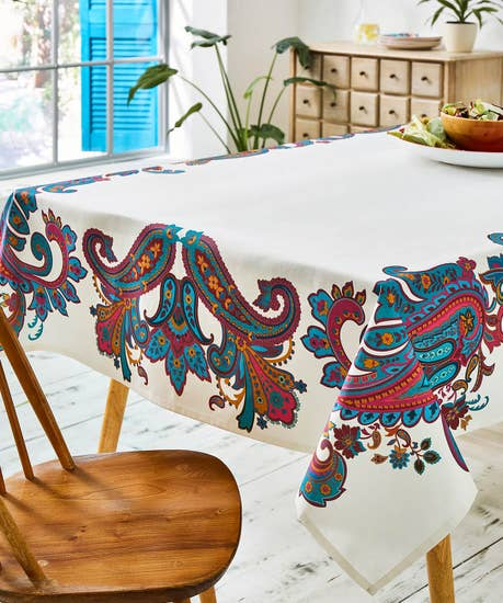 Perfect Paisley Tablecloth
