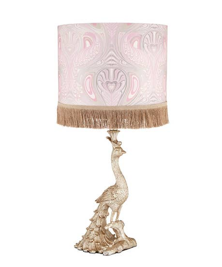 Perfect Peacock Table Lamp