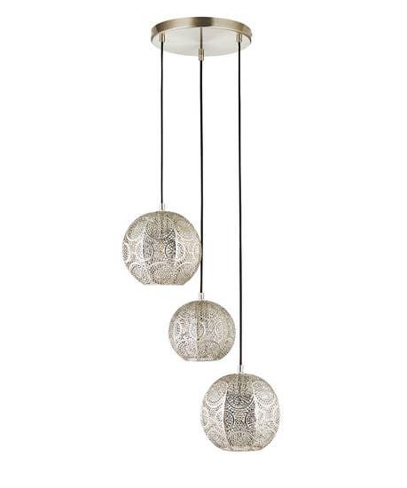 3 Pendant Moroccan Light Fitting