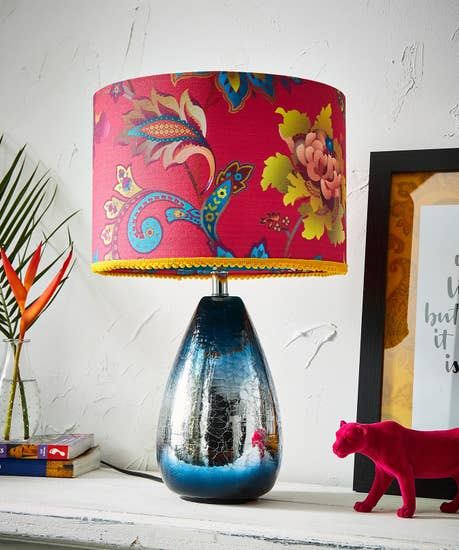 Marvellous Metallic Table Lamp