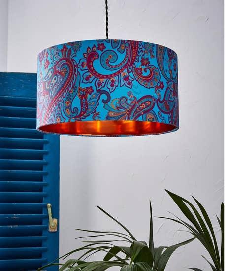 Pretty Paisley Lamp Shade