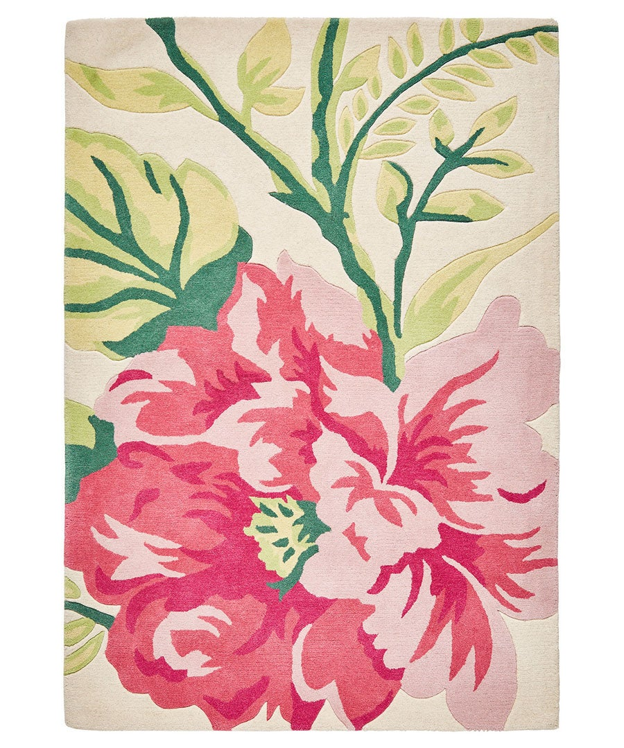 Floral Trail Wool Rug (Large)