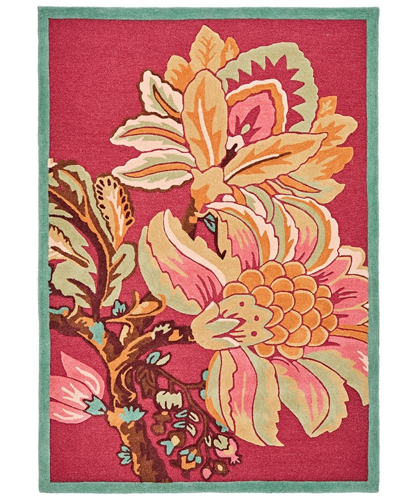 Floral Tufted Rug (Medium)