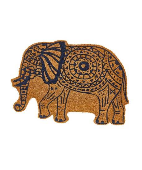 Elephant Shaped Doormat