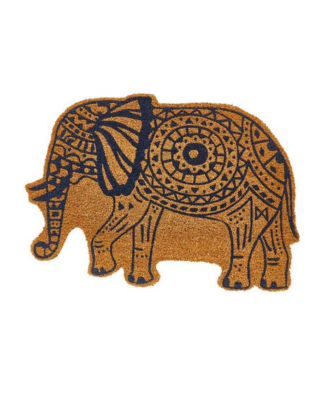 Elephant Shaped Doormat