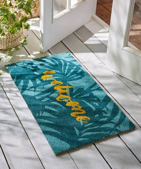 Wonderful Welcome Doormat