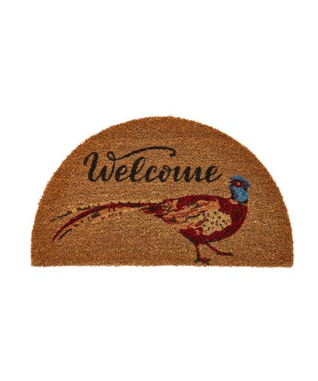 Wonderful Welcome Pheasant Doormat