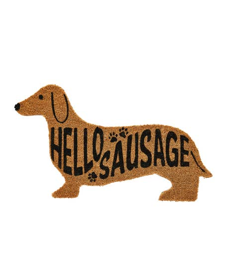Super Sausage Dog Doormat