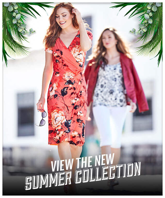 NEW SUMMER STYLES ONLINE - SHOP NOW