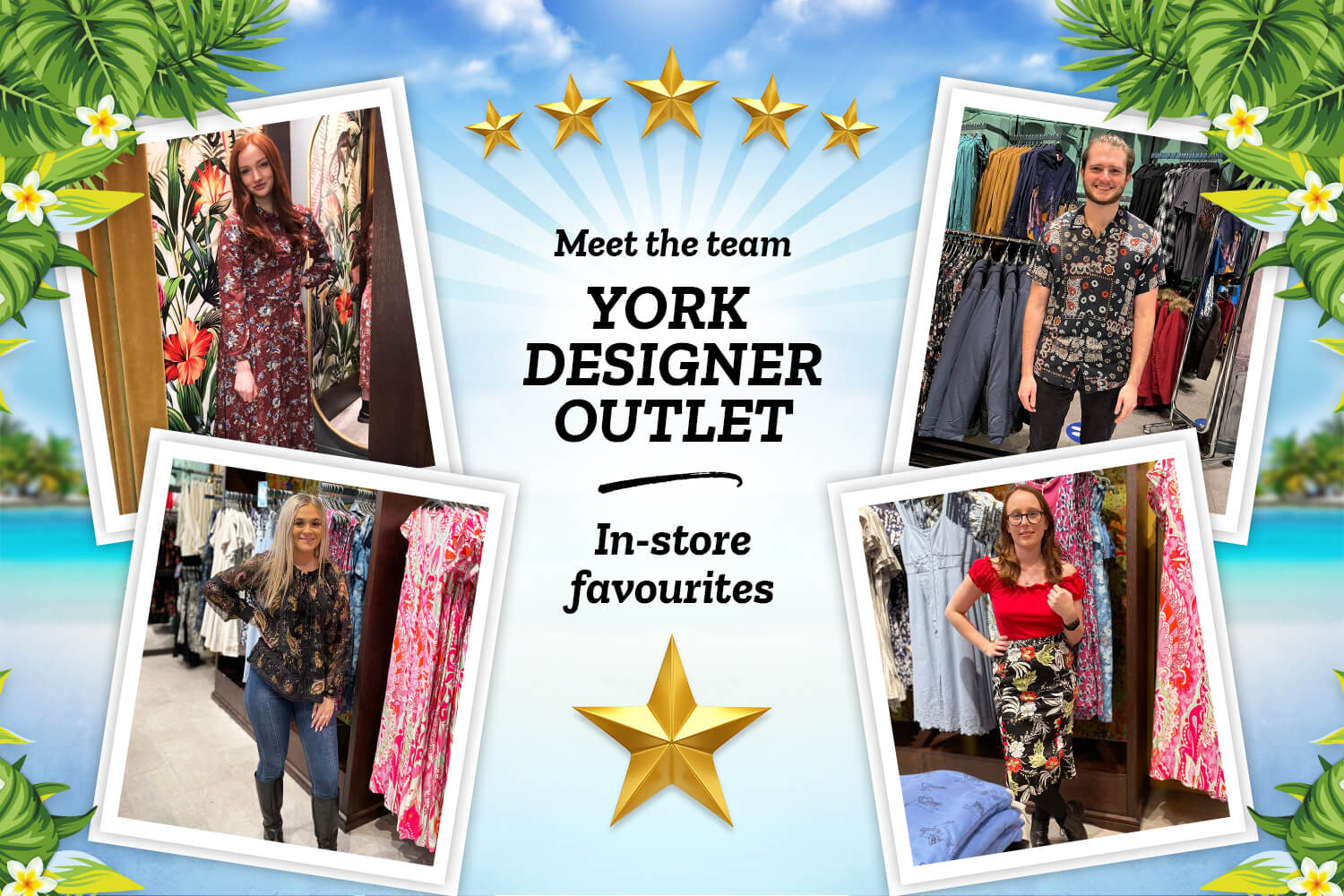 Meet The York Designer Outlet Team: In-store Favourites