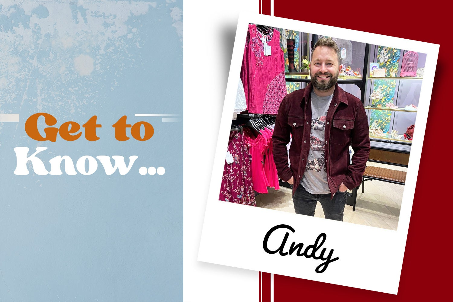 Get to know... our Meadowhall Store Manager
