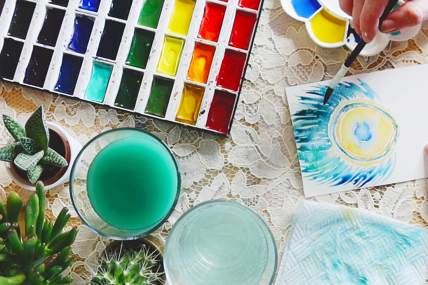 Let's Get Crafty: Watercolour Painting Tutorial