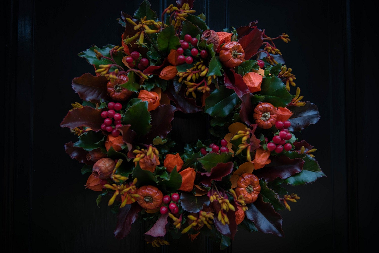 Create Your Own Autumnal Wreath