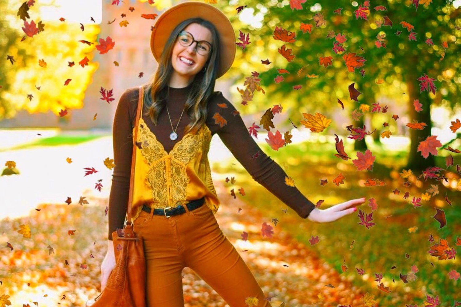 Influencers show off their autumn style!