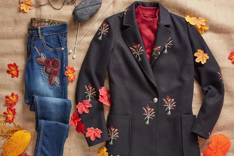 Trends With A Twist: Embroidery