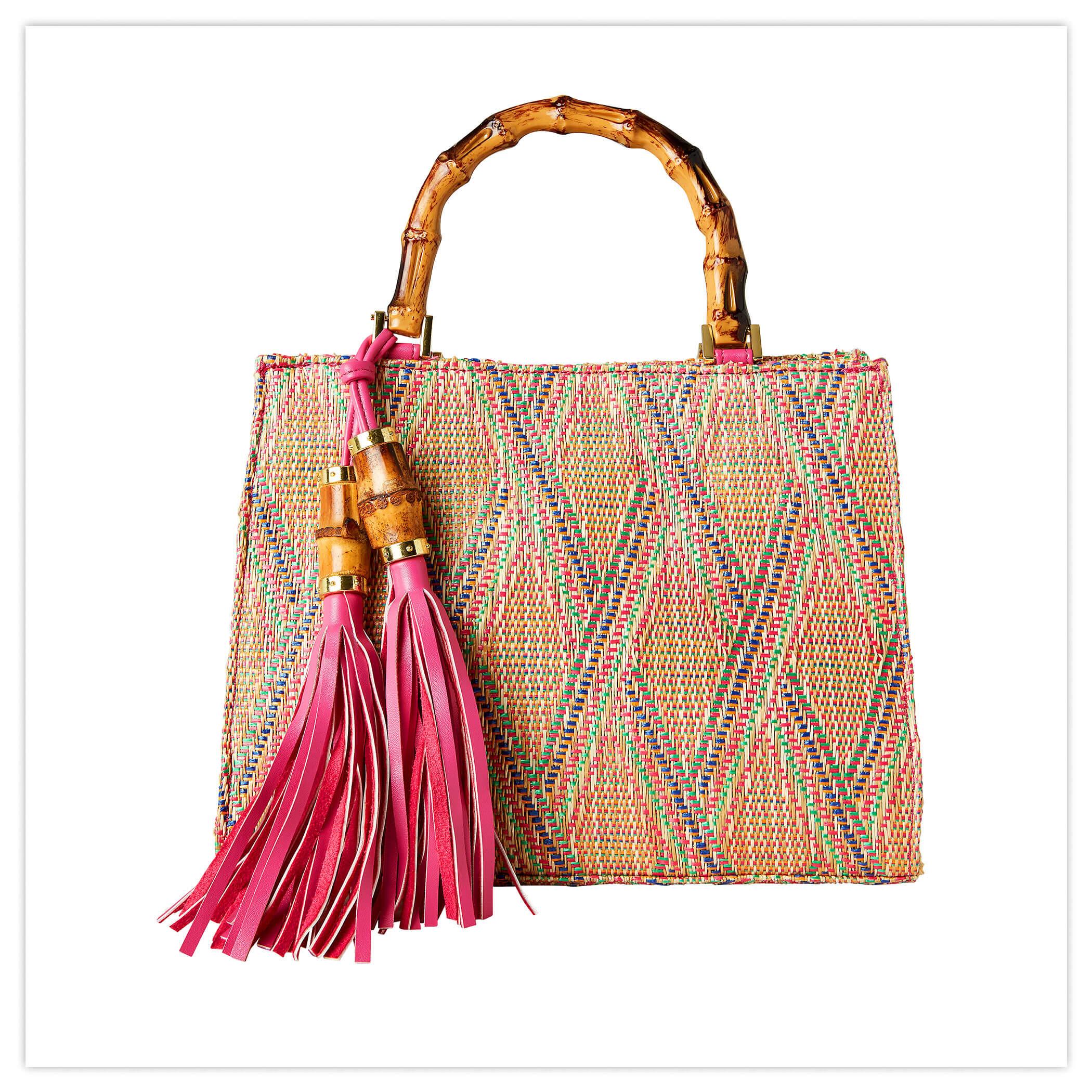 Beach Hut Tassel Bag
