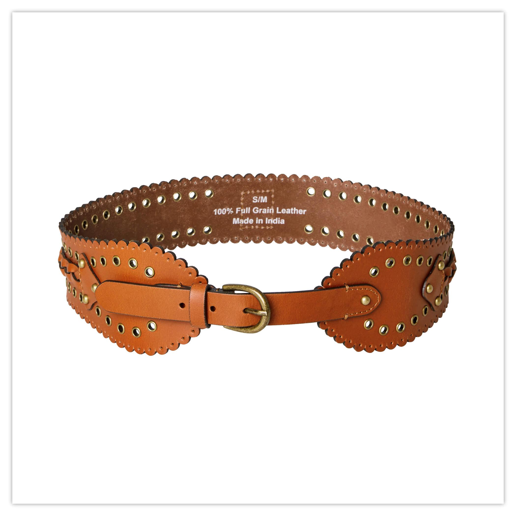 Joe Browns Game Changer Leather Belt