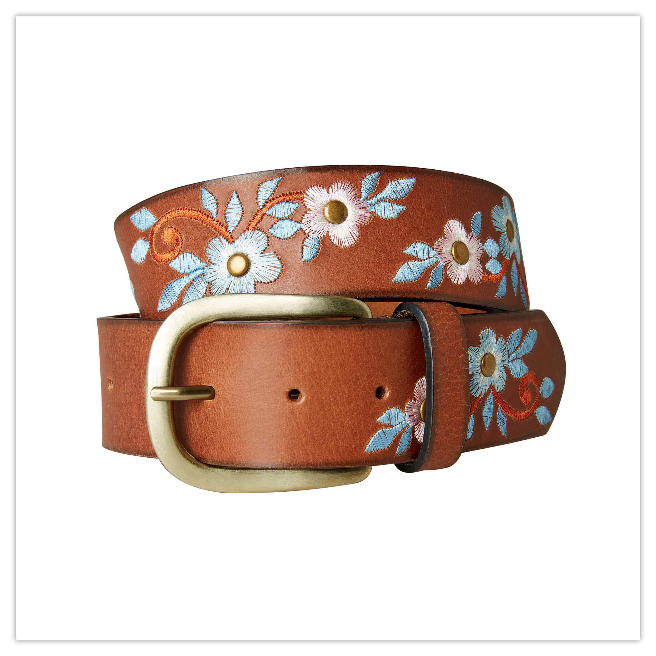 Joe Browns Stunning Embroidered Leather Belt
