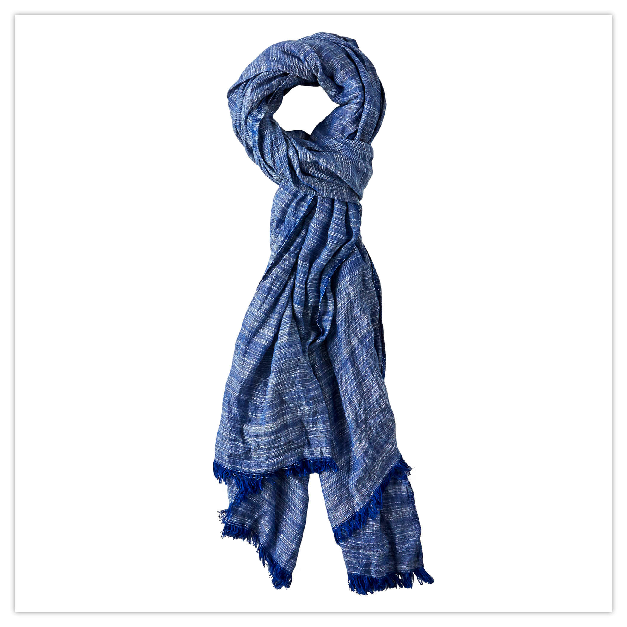 Joe Browns Roy Crinkle Scarf in Blue
