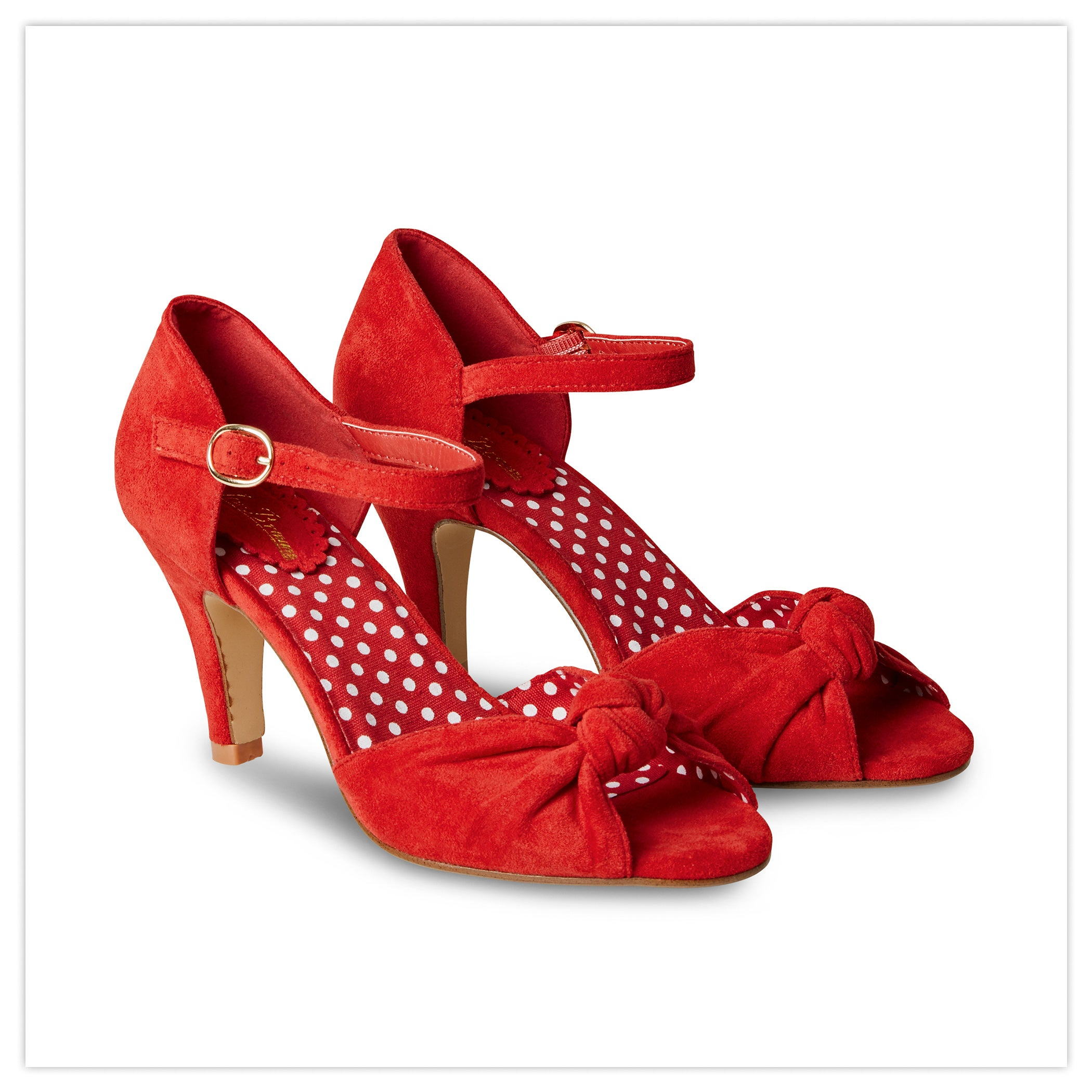 Oh Miss Scarlet Shoes