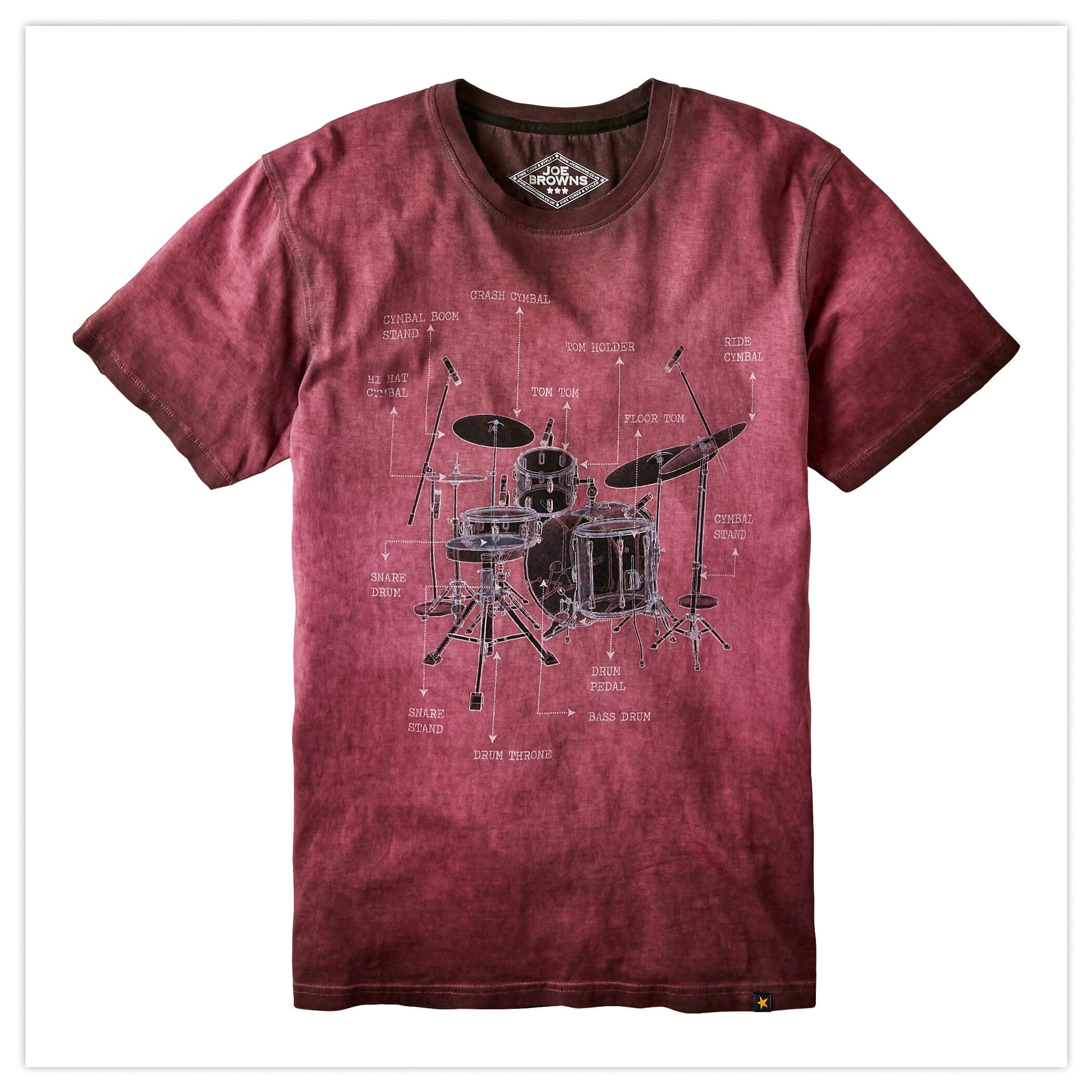 Drum Description Tee