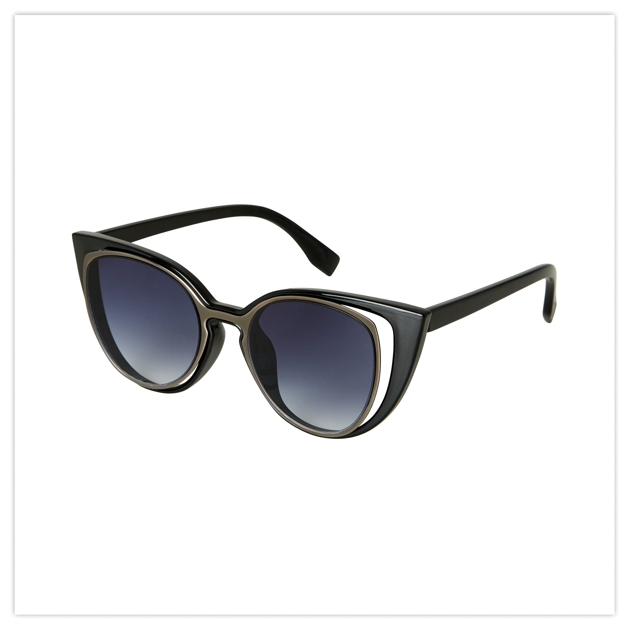Split Lens Vintage Sunglasses