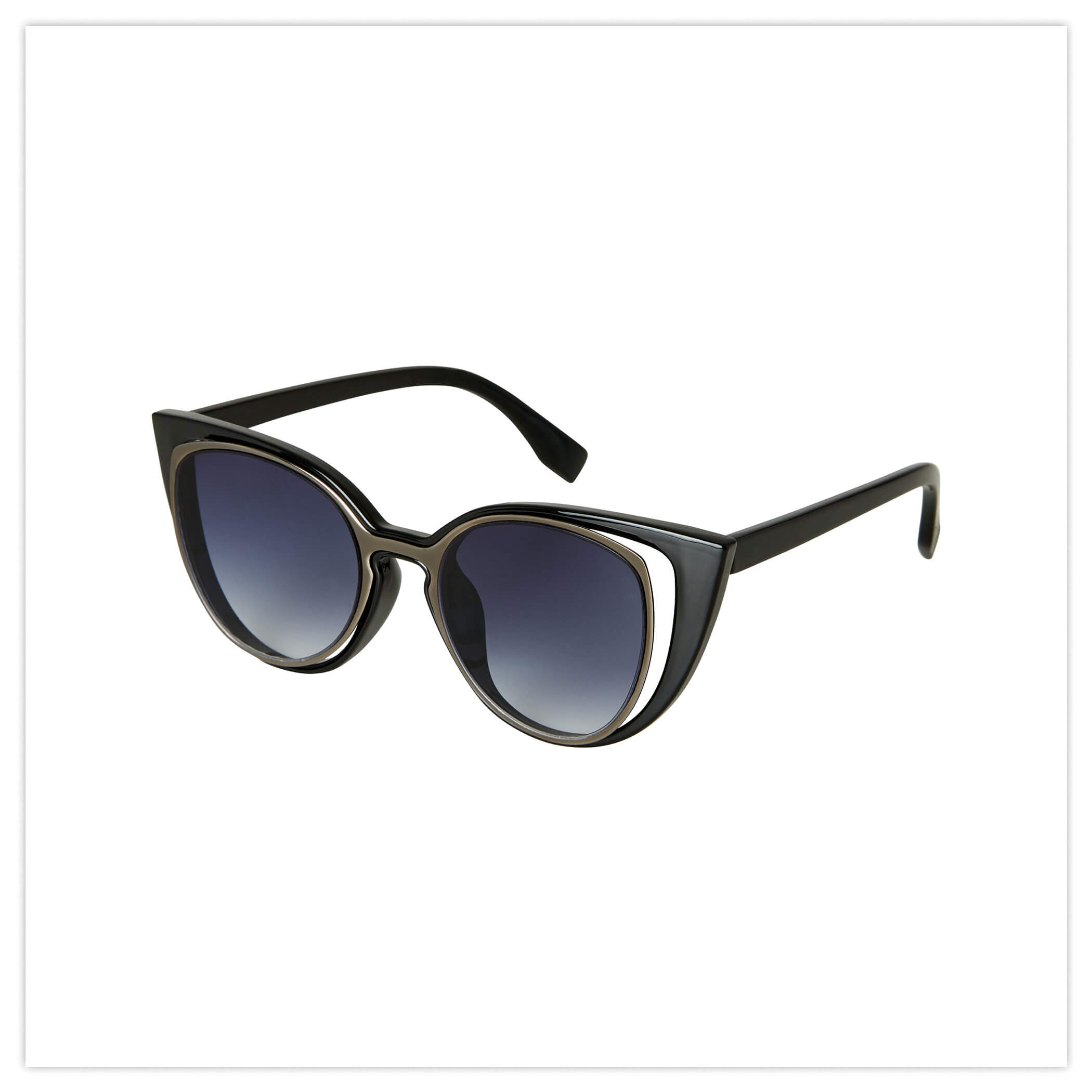 SPLIT LENSE VINTAGE SUNGLASSES