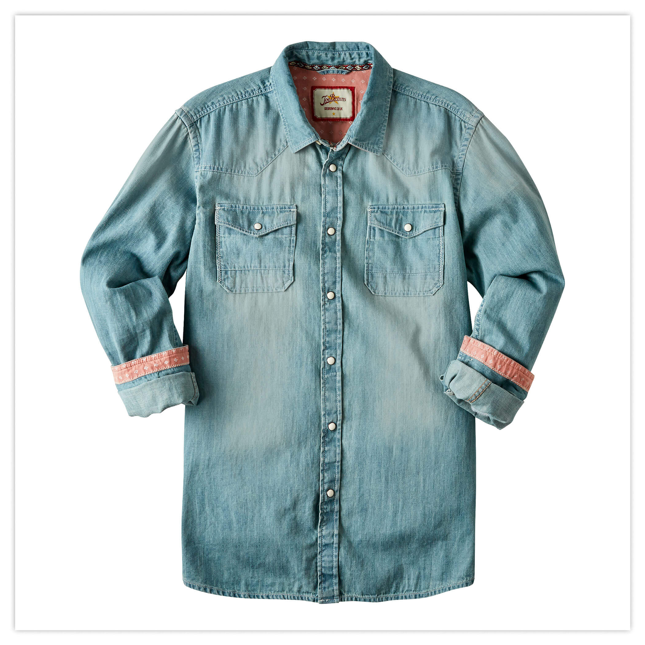 Customised Denim Shirt