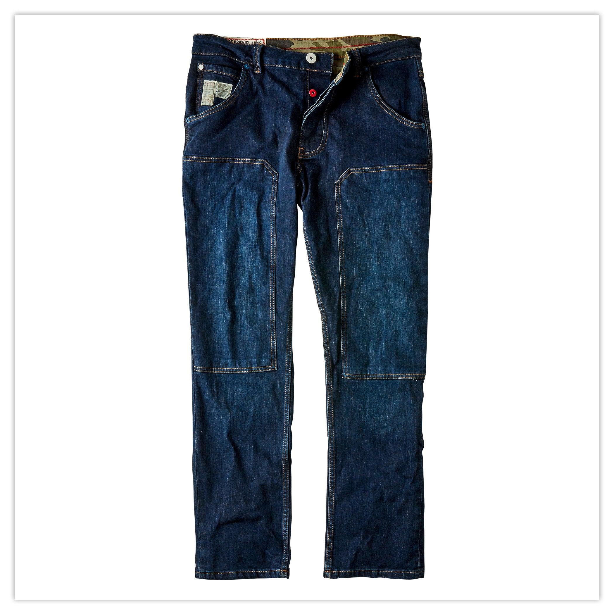 Work Hard Play Hard Jeans