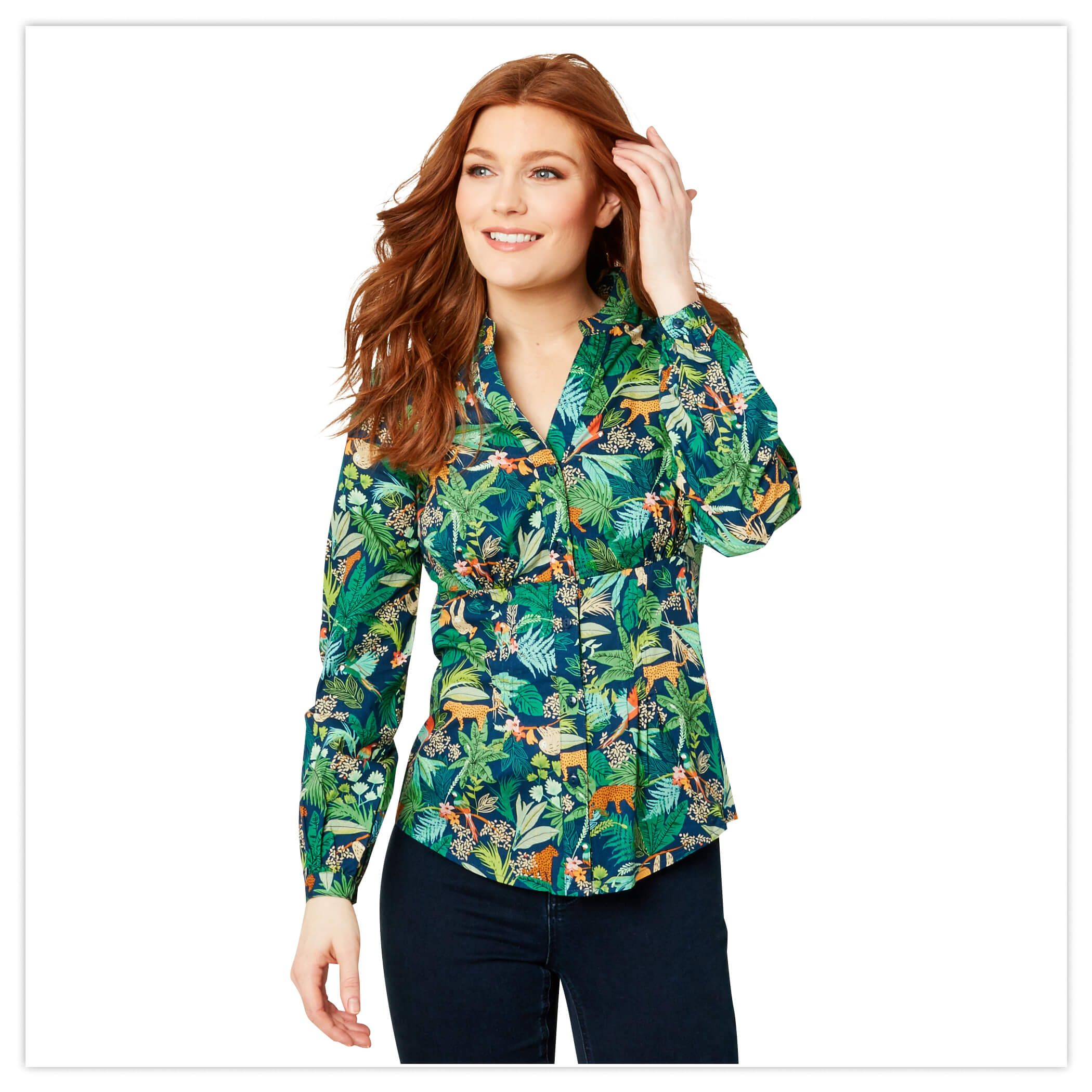 Joe Browns Jungle Printed Blouse