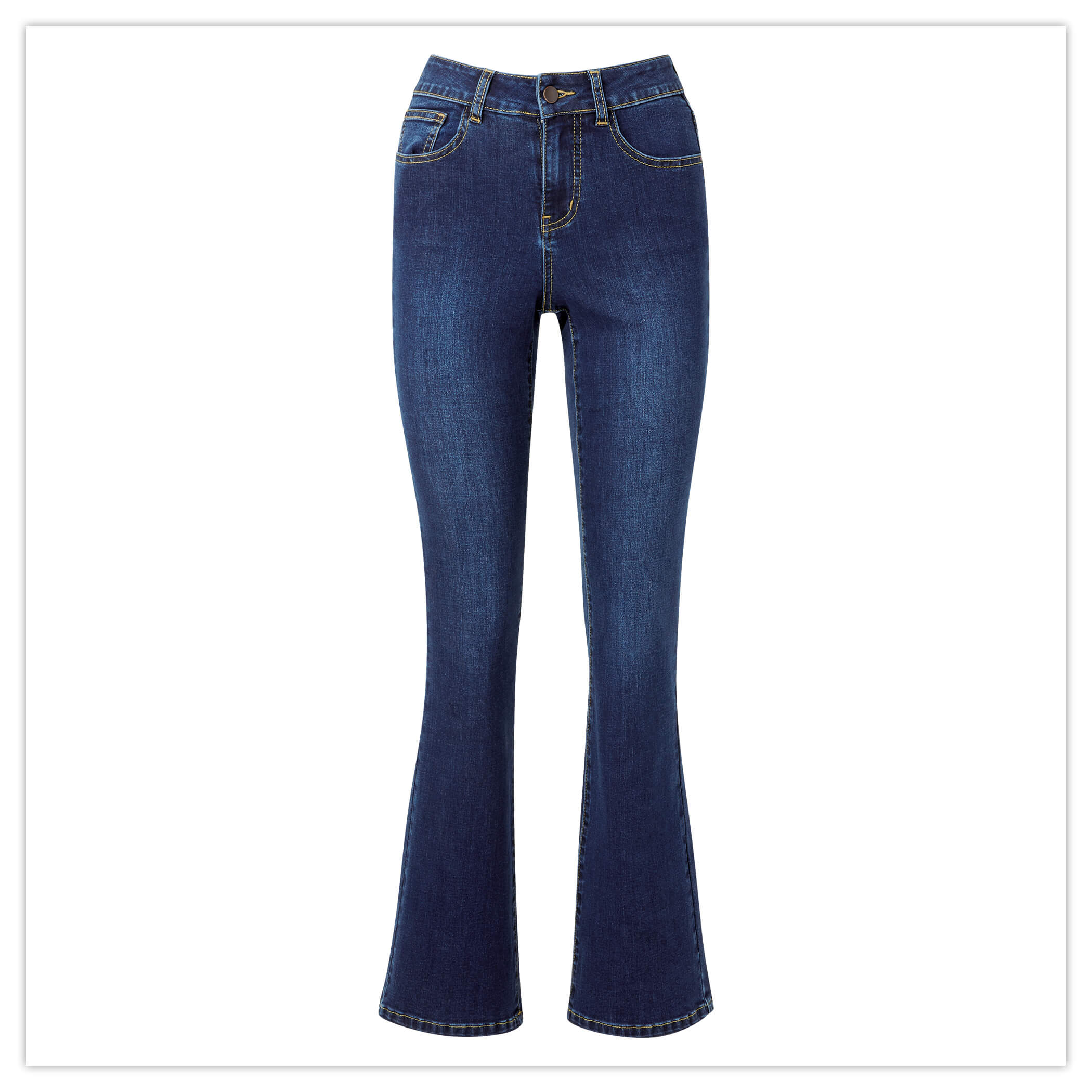 WESTERN BOOTCUT JEANS