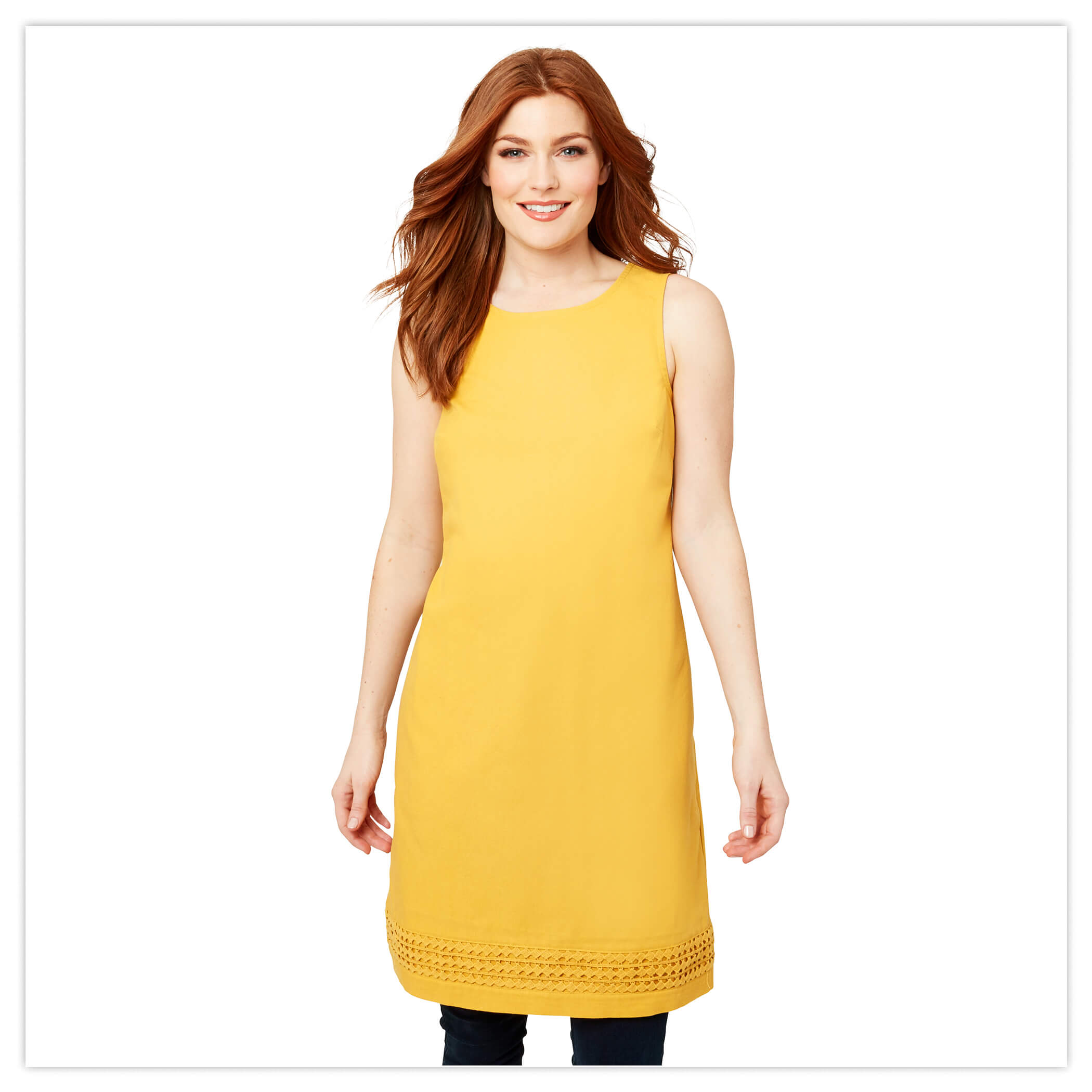 Lovely Mustard Tunic