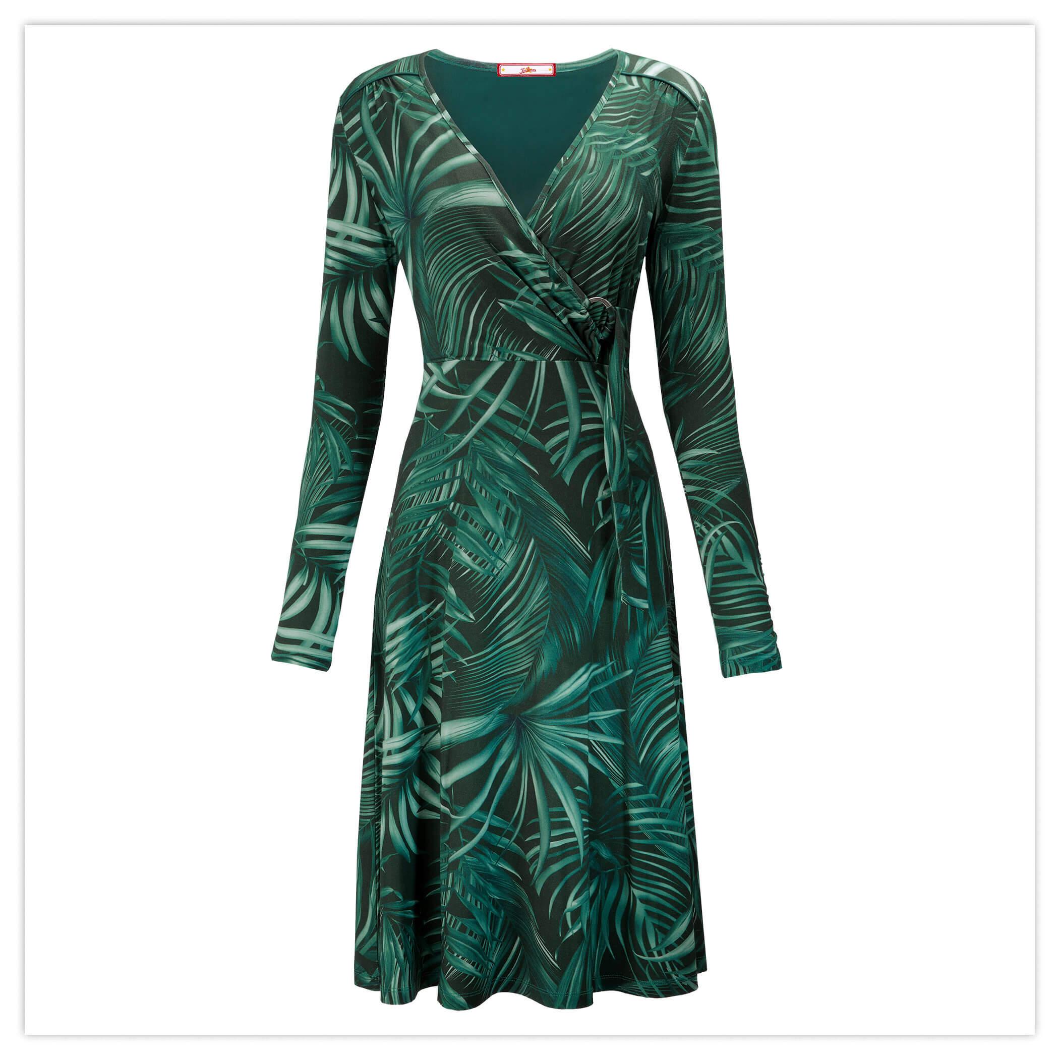 Night Palm Dress