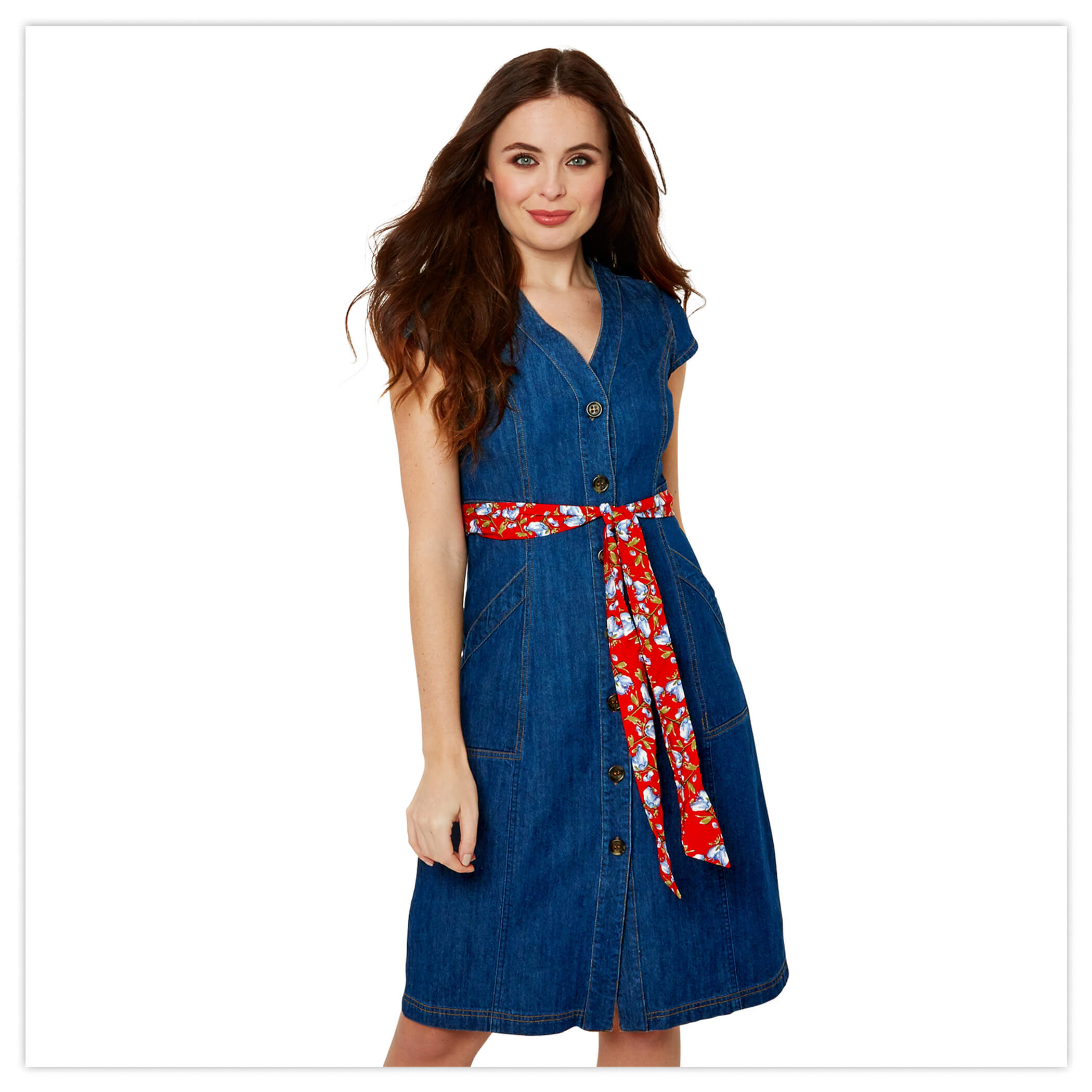 Delighful Denim Dress