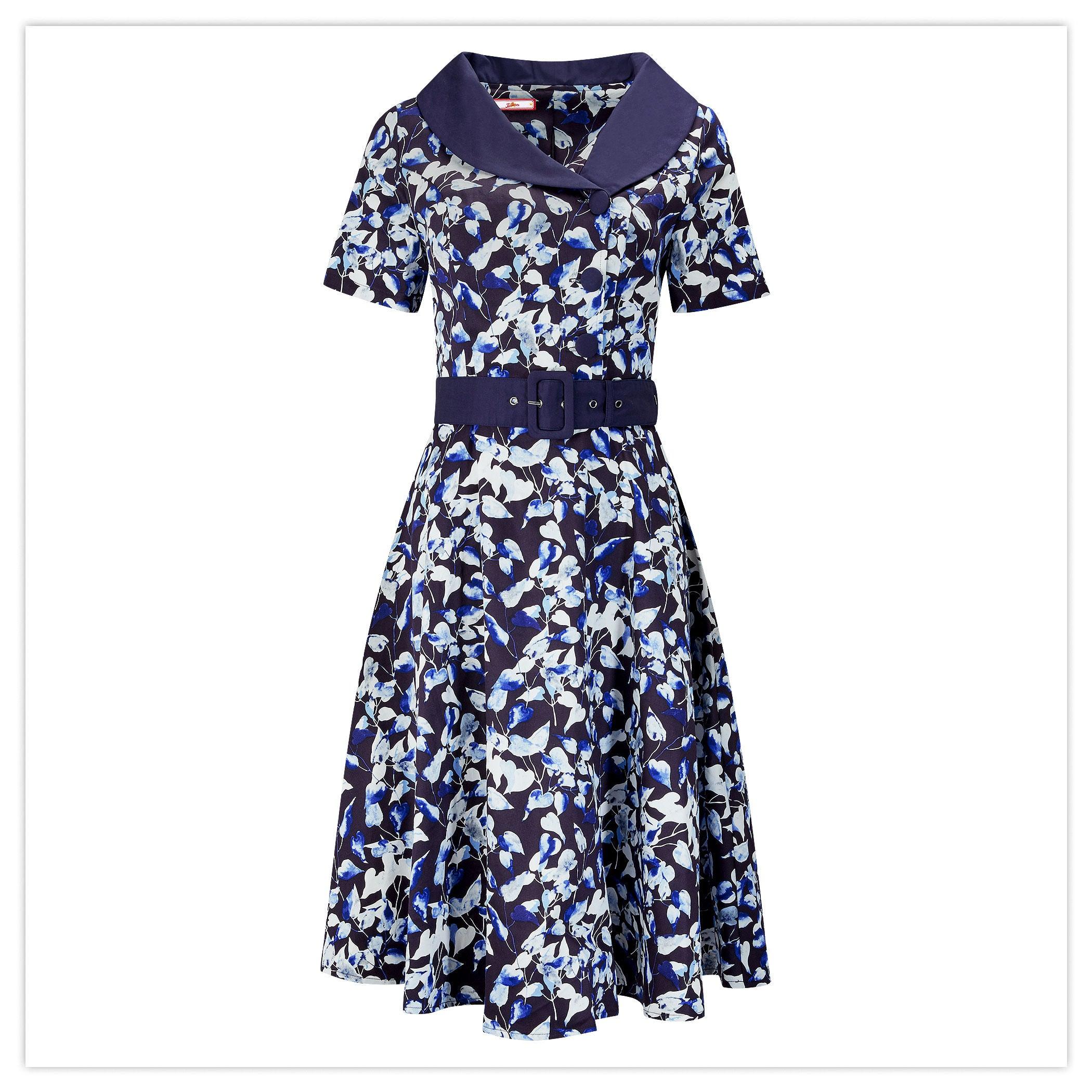 Retro Collar Dress