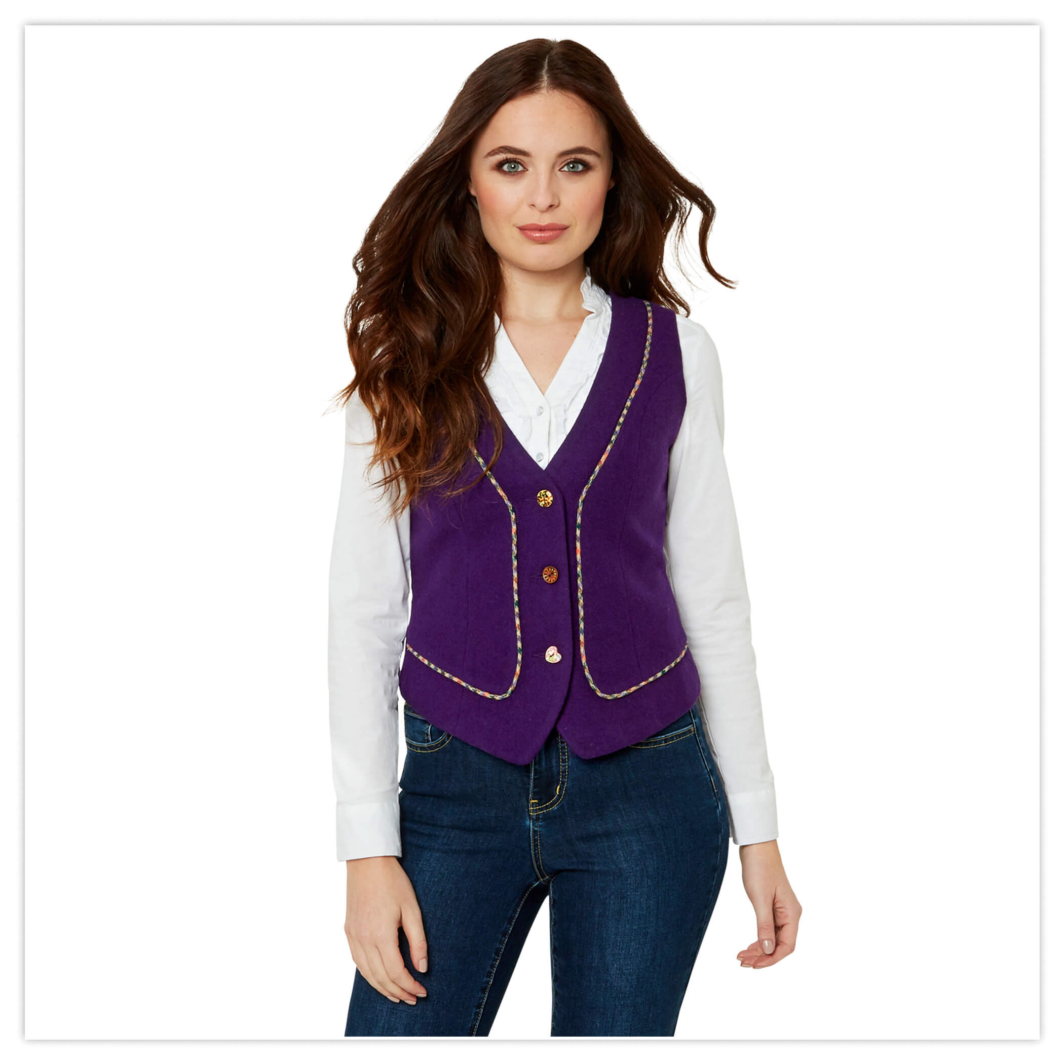 Precious Purple Waistcoat