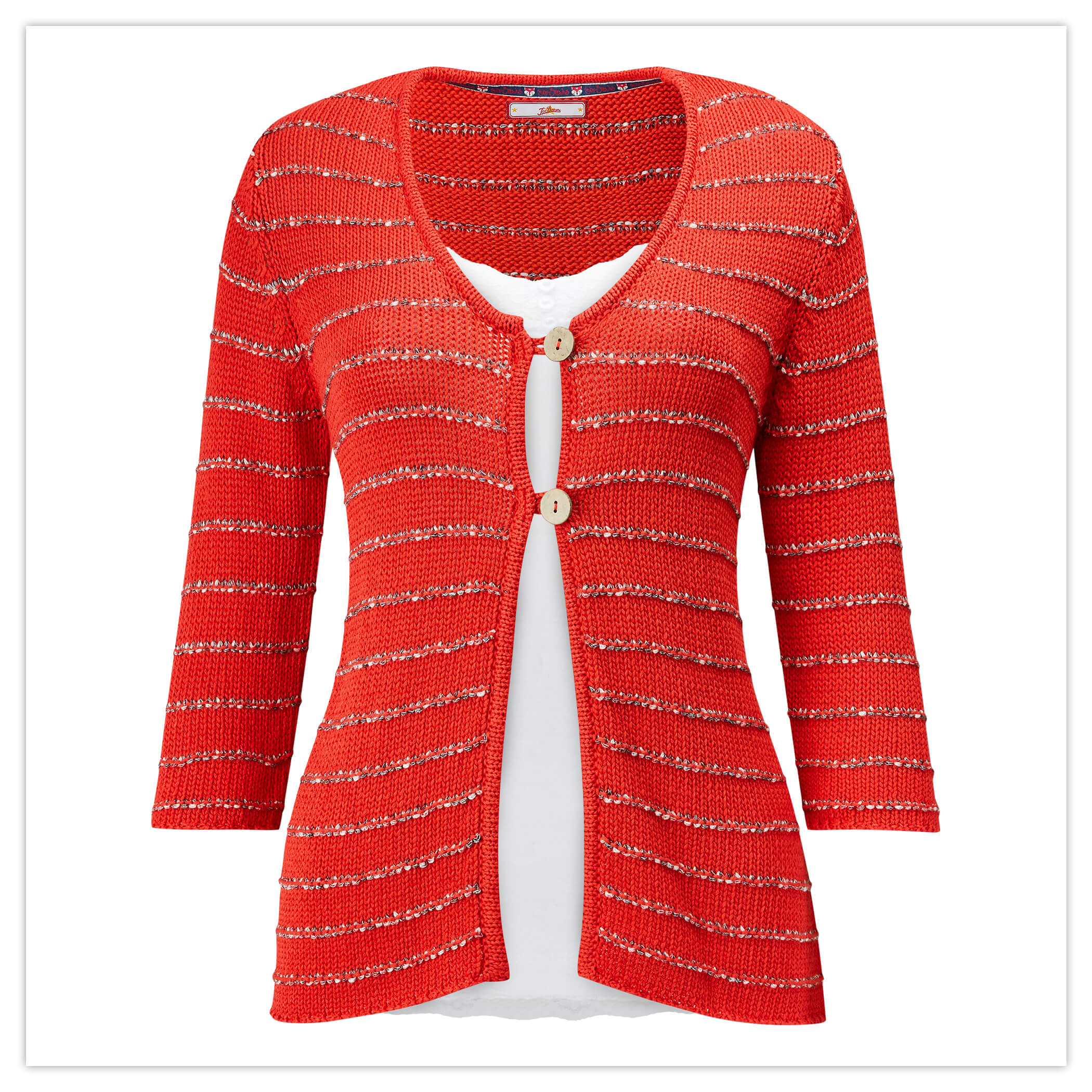 Ruby Red Cardigan