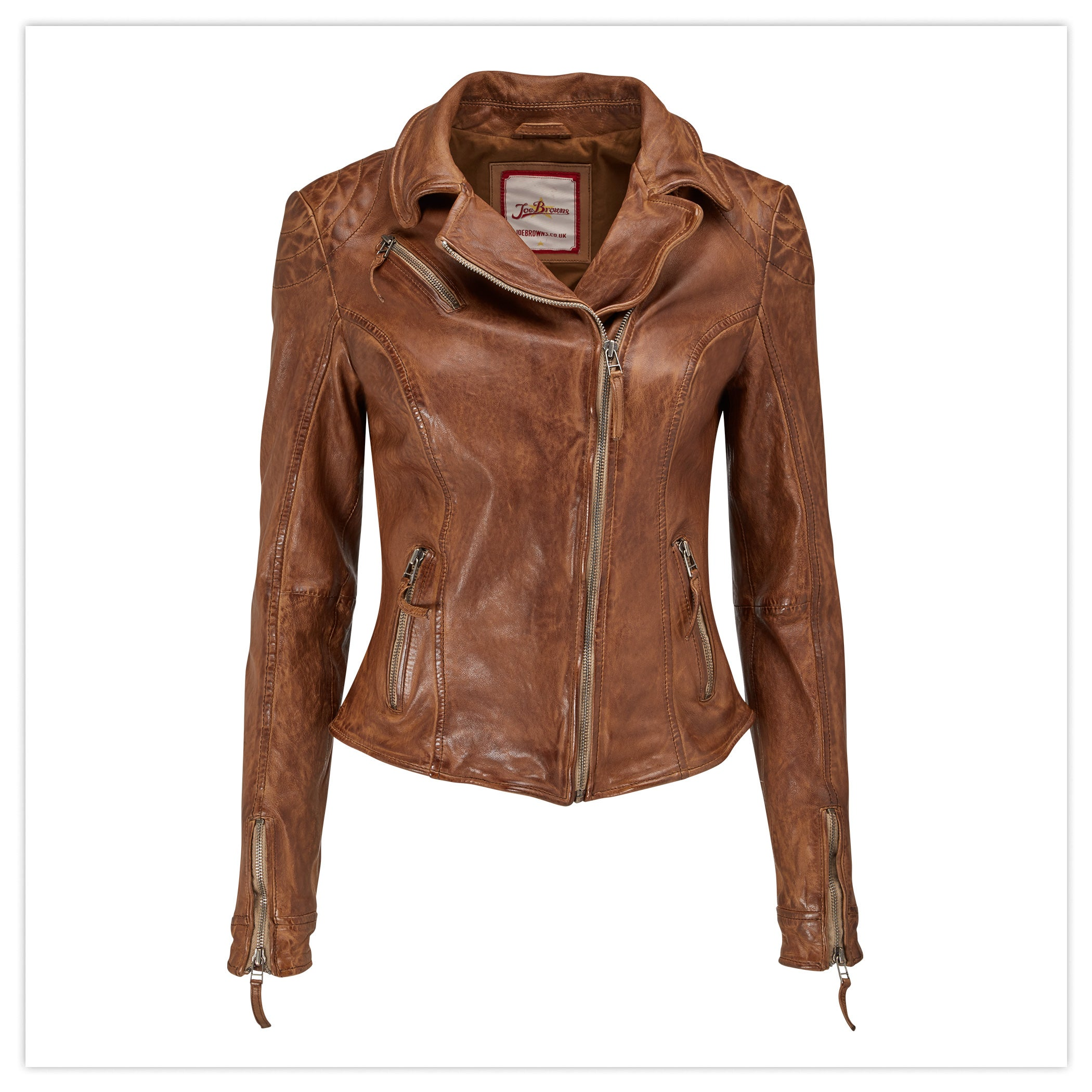 Joe's Signature Leather Jacket