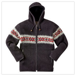 Joe Browns Wonderful Wool Zip Up Hoodie