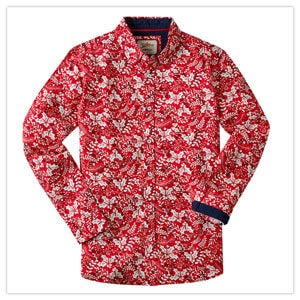 Joe Browns Holly Leaf Christmas Shirt