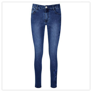 Joe Browns Embroidered Jeans in Blue