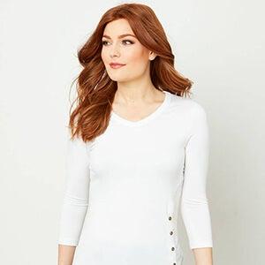 Joe Browns Best Basic Women's T-Shirt in White