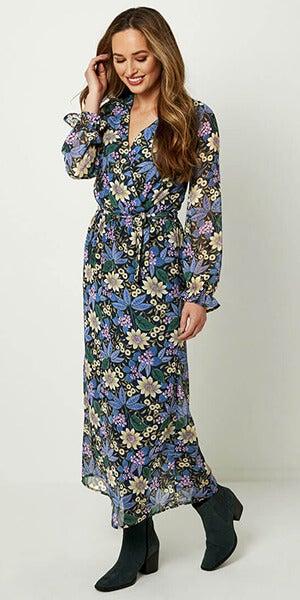 Joe Browns Night Meadow Dress on Model