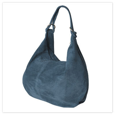 Joe Browns San Lorenzo Suede Bag in Blue