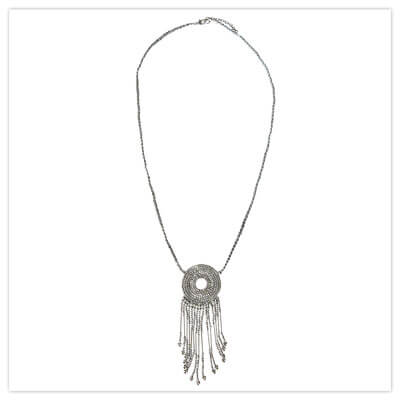 Joe Browns Cairo Cafe Necklace in Silver