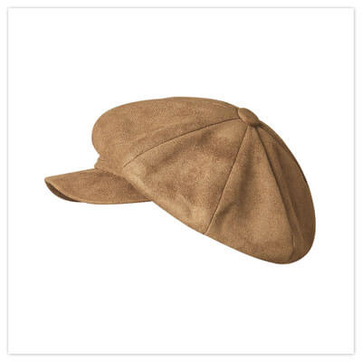 Joe Browns So Retro Suedete Baker Boy Hat