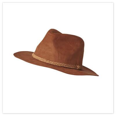 Joe Browns Suedette Fedora Hat